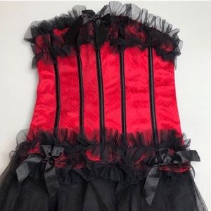 Other - Red Bustier Corset